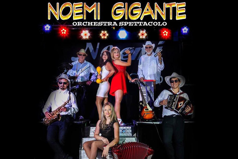 noemi gigante orchestra spettacolo